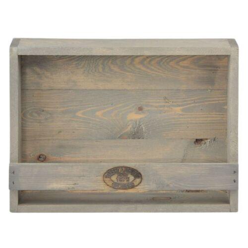 Esschert Design blumentopfhalter 12,3 x 39,1 x 28,9 cm graues Holz