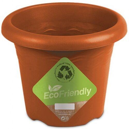 Hega blumentopf Flori 22 x 17 cm 100% recycelte Terrakotta