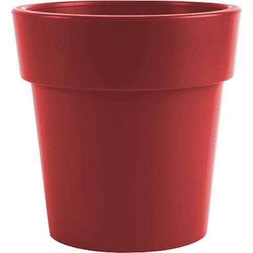 Hega blumentopf Melisa 1,7 Liter 12 x 12 cm rot