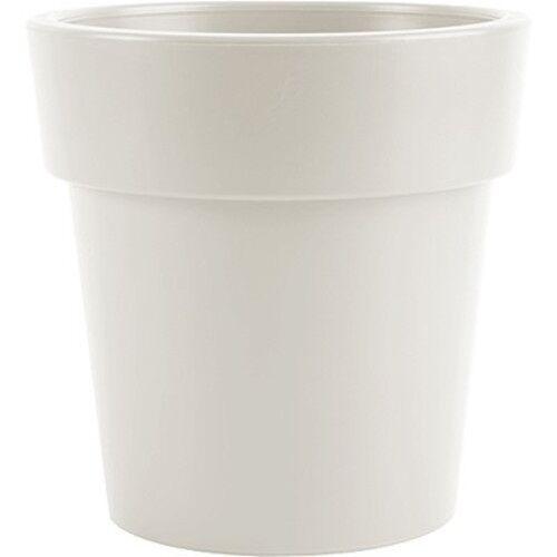 Hega blumentopf Melisa 1,7 Liter 12 x 12 cm weiß