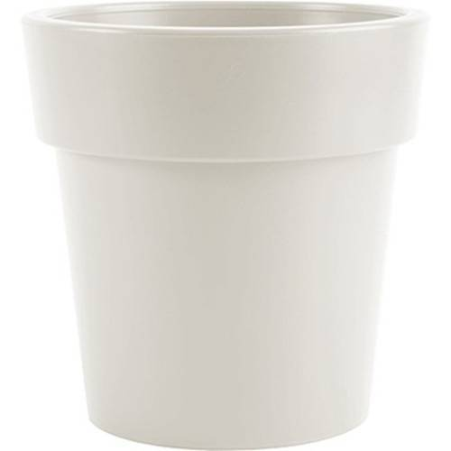 Hega blumentopf Melisa 7,8 Liter 25 x 25 cm weiß