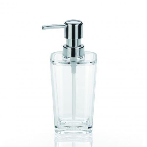 Kela seifenspender Kristall 7,5 x 17 cm transparent