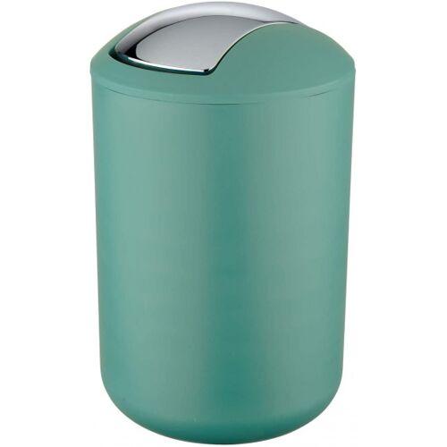 Wenko abfallbehälter Brasil 19,5 x 31 cm TPE grün