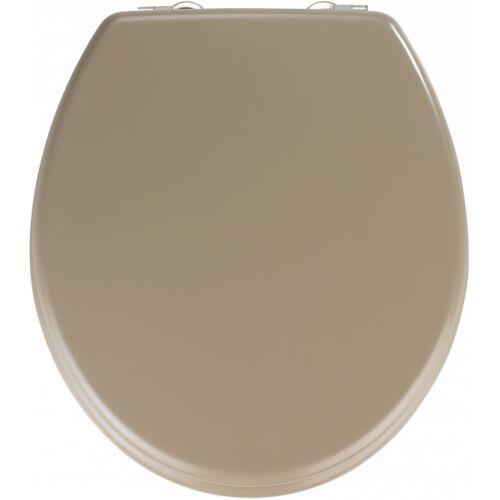 Wenko toilettensitz 37 x 41 cm MDF beige