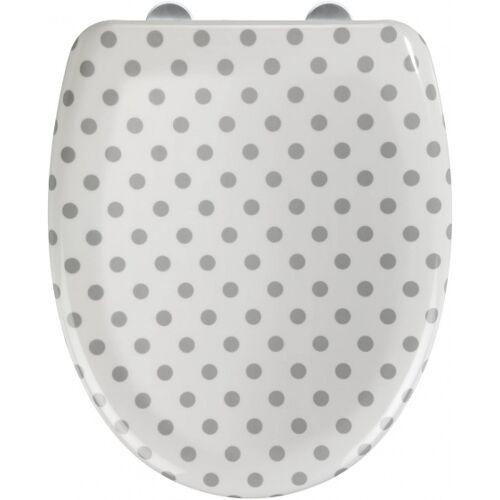 Wenko toilettensitz Punto 38 x 46 cm weiß