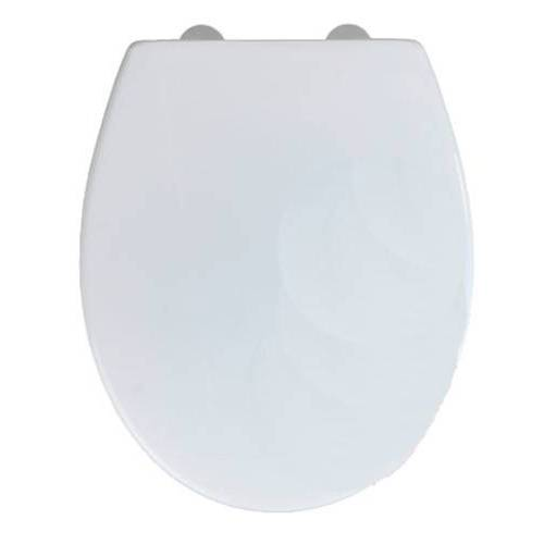 Wenko WC Sitz Korfu 37,5 x 44,5 cm weiß