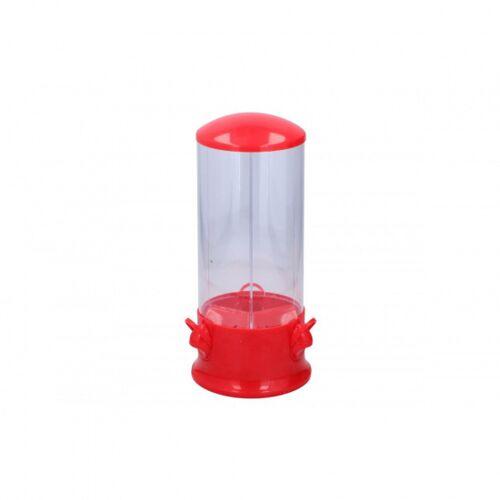 Alpina süßigkeitenspender 3 seitig 14x31 cm rot