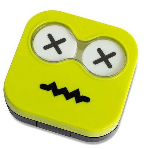 Balvi kontaktlinsenhalter Emoji 6,7 x 6,5 cm grün