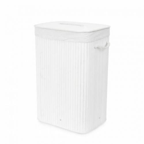 Compactor wäschekorb Bambus faltbar 45 x 60 cm Bambus weiß