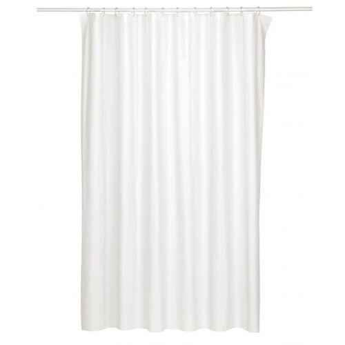 Kela duschvorhang Largo 200 x 180 cm Peva weiß