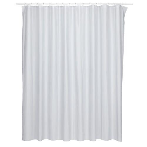Kela duschvorhang Largo 200 x 240 cm Polyester grau