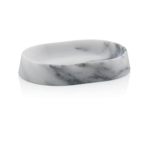 Kela seifenhalter Varda 14 x 10 x 2,5 cm Marmor weiß