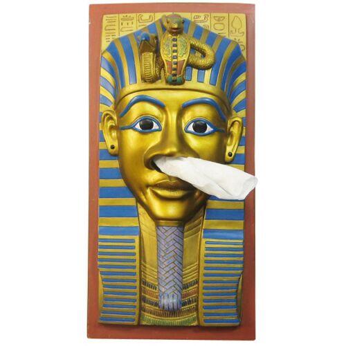 Rotary Hero taschentuchhalter King Tut 26 cm Polyresin gold/blau