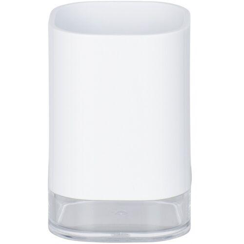 Wenko badezimmerbecher Oria 7,5 x 11,5 cm Acryl weiß