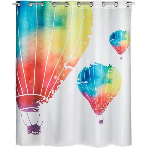 Wenko duschvorhang In The Air 200 x 180 cm Polyester weiß