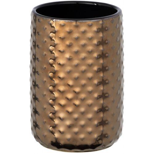 Wenko badetasse Keo 7,5 x 11 cm Keramik Kupfer