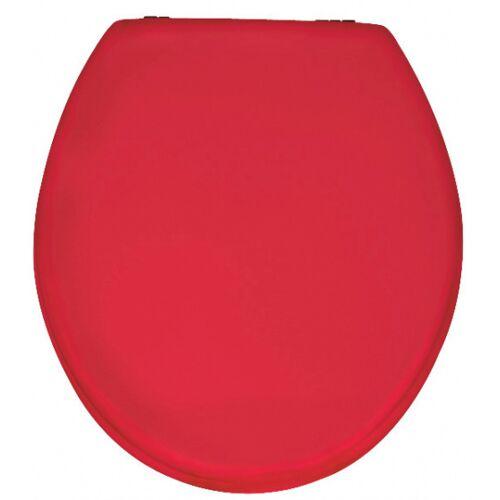 Wenko wC Sitz Prima 37 x 41 cm duroplast rot