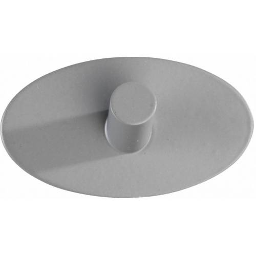 Wenko wandhaken selbstklebend Piceno 3,6 x 6,5 x 2,8 cm Edelstahl grau