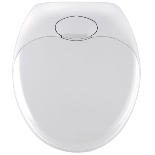 Wenko WC Sitz Family 35,2 x 38 cm Thermoplast weiß