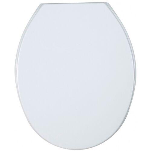 Wenko WC Sitz Aurora 36,2 x 45 cm Thermoplast weiß