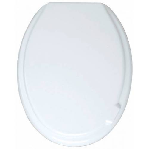 Wenko WC Sitz Mop 37 x 46 cm Thermoplastik weiß