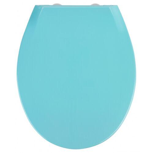 Wenko WC Sitz Premium Kos 44 x 37 cm Thermoplast blau