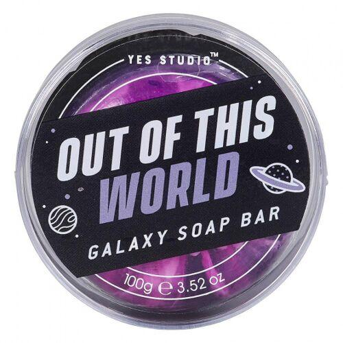 Yes Studio seife Galaxy Seifenstück 100 Gramm vegan violett