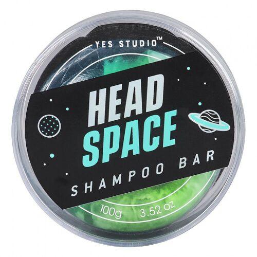 Yes Studio haarseife Head Space 100 Gramm veganes Grün