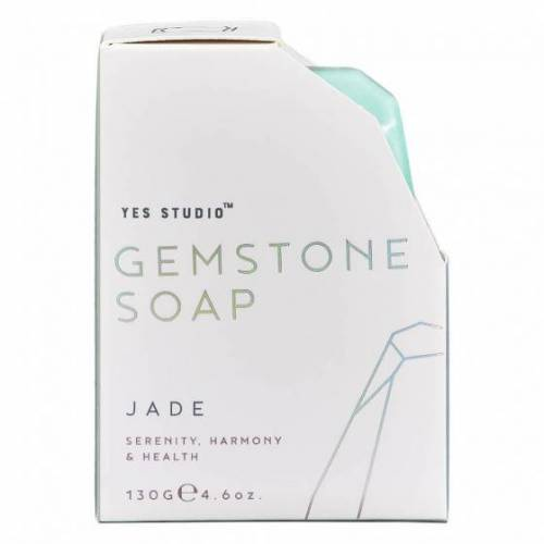Yes Studio seife Jade 130 Gramm 8,8 cm veganes Grün