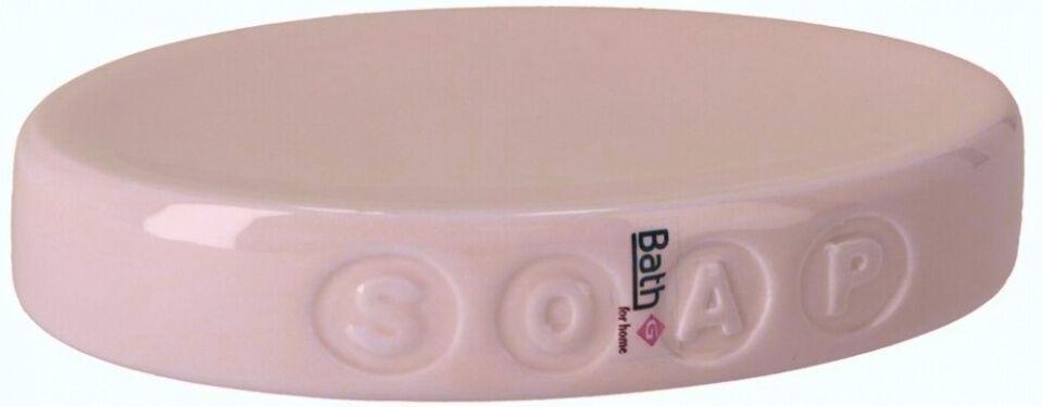 Gerimport seifenhalter 15,5 x 10,6 cm Keramik rosa