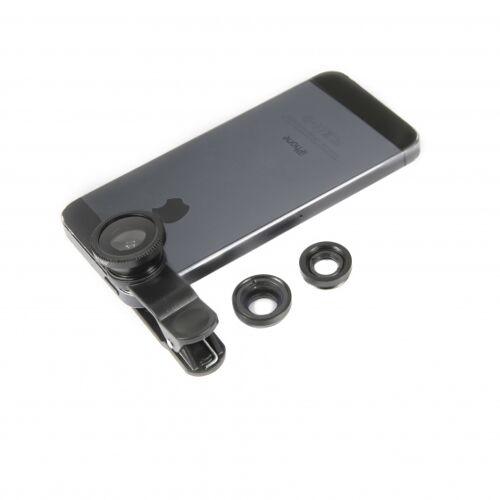 Swipe linsensatz Telefon 3 Linsen schwarz 7 teilig