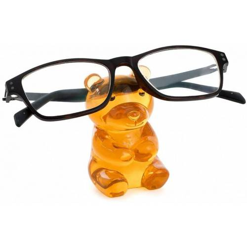 Balvi brillenhalter Bär 7,1 x 4,2 cm Polyresin orange