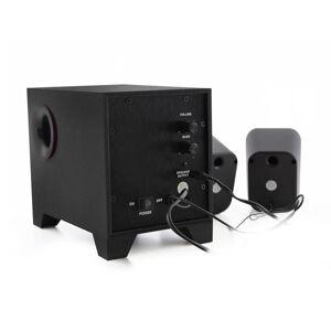 Ewent lautsprecher Stereo 2.1 mit Subwoofer 180 Hz 15 W schwarz