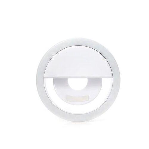 Kikkerland selfie Licht ABS weiß