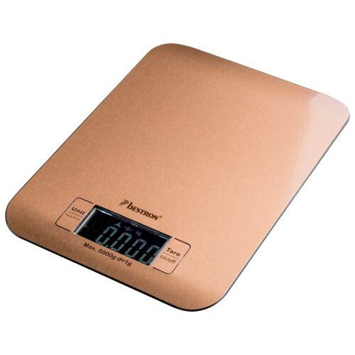 Bestron küchenwaage digital 23 x 17 x 2,5 cm Kupfer