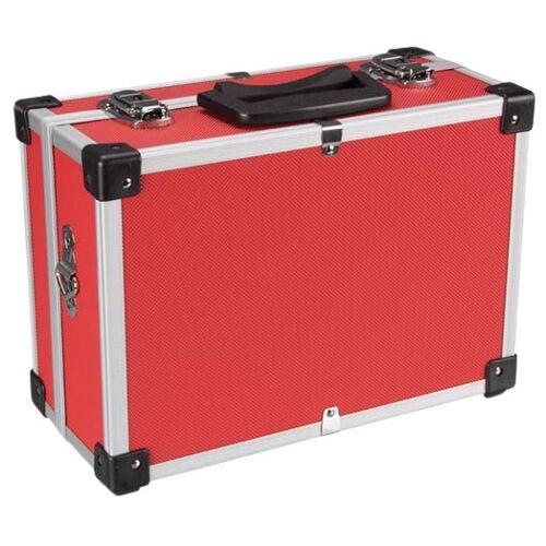 Perel werkzeugkoffer 11 Liter Aluminium rot/silber