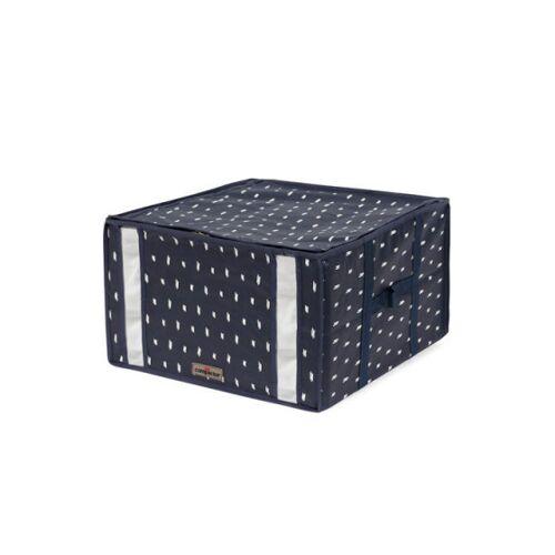 Compactor vakuum Aufbewahrungsbeutel Kasuri 42 x 40 x 25 cm blau M