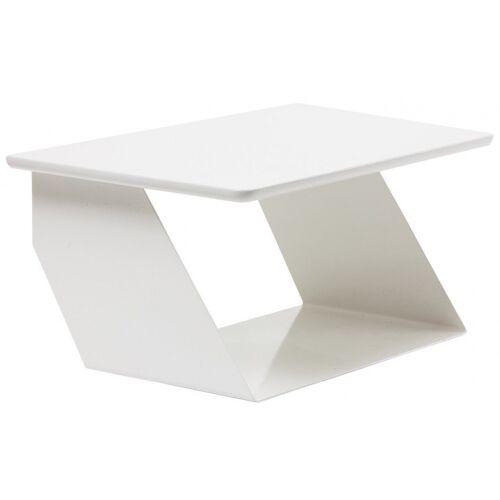 Maze wandtisch Edgy 38 x 25 cm Stahl weiß