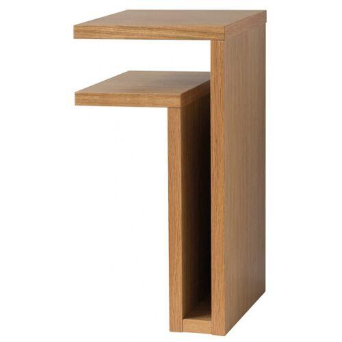 Maze wandtisch F Regal links 42 x 21 x 25 cm Holz klar