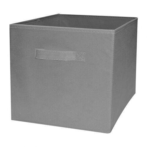 Compactor faltbare Aufbewahrungsbox 31 x 31 cm Karton grau