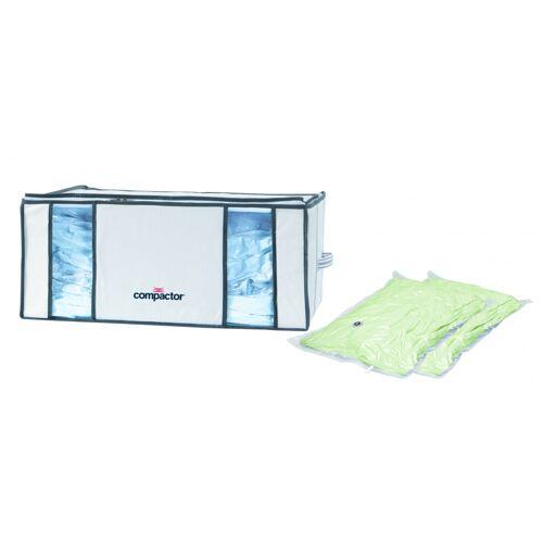 Compactor vakuum Aufbewahrungskorb 65 x 50 x 26,5 cm weiß