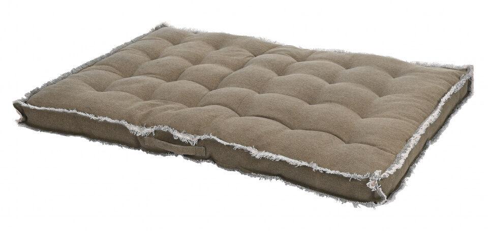 Home & Styling außenkissen 80 x 120 x 8 cm Baumwolle/Polyester beige