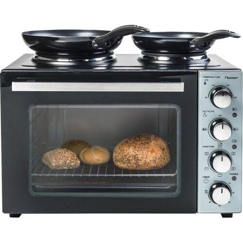 Bestron kompakt Küchengrill/ backofen 31 Liter 1000W 5 teilig
