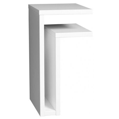 Maze wandtisch F Regal rechts 42 x 21 x 25 cm Holz weiß
