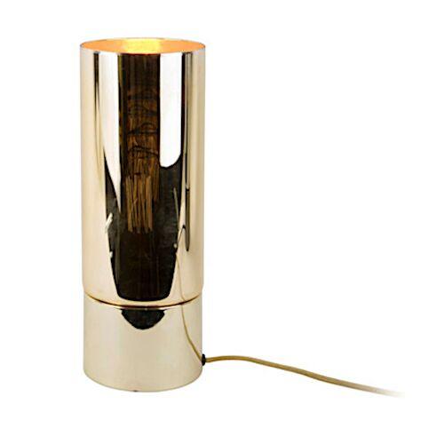 Leitmotiv tischlampe Lax 12 x 32 cm Stahl/Glas gold 2 teilig