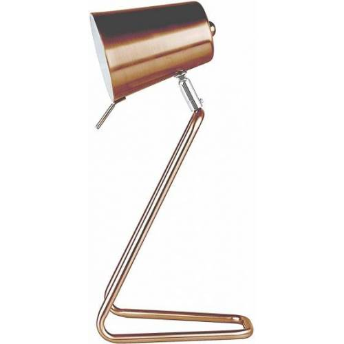 Leitmotiv tischlampe Z35 cm Stahl Kupfer