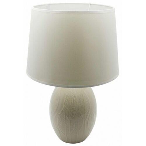Rox Living tischlampe 16,5 x 31,5 cm Keramik weiß