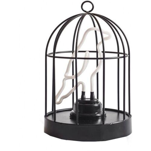 Suck UK dekorationslampe Vogelkäfig 16 cm Stahl schwarz 2 teilig