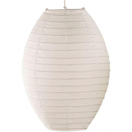 Trio hängelampe Lampion 52 x 40 cm E27 Papier 60W weiß
