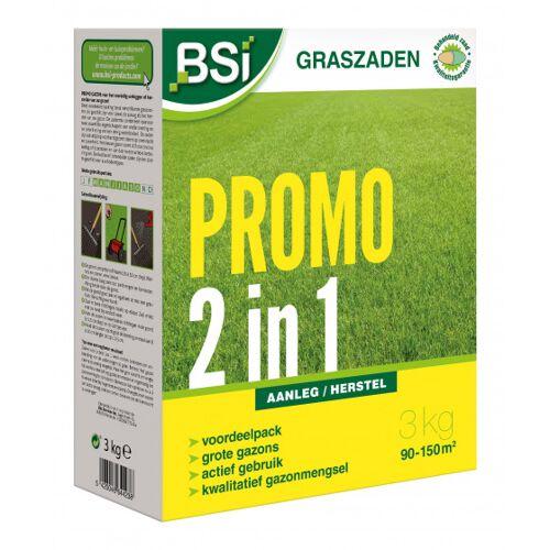 BSi grassamen Promo Bepflanzung & Sanierung 3 kg Gemüse braun